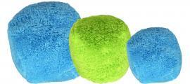 Cycle Dog Duraplush Fuzz Ball Soft Dog Toy – Guaranteed Fun-Safe-Tough - Handcrafted USA