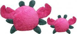 Duraplush Crab Soft Dog Toy – Guaranteed Fun-Safe-Tough - Handcrafted USA