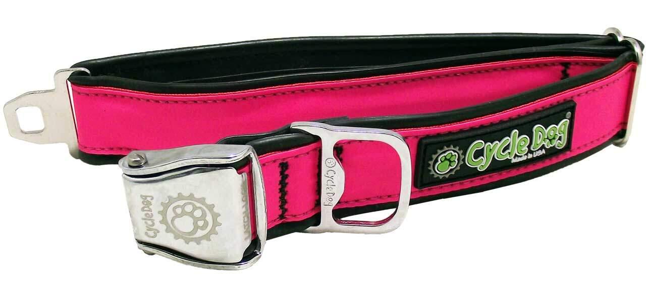 RegularWidth Collar-Metal-Hot-Pink MAX Reflective