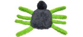 Fuzzies Spider-Green Grey