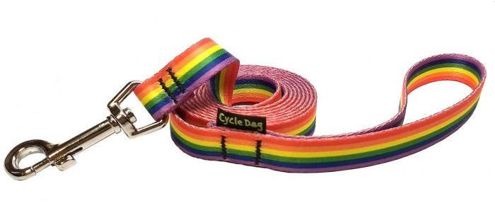 Rainbow Pride Small Dog Leash