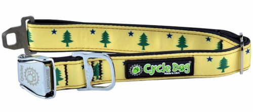 Maine Flag Dog Collar